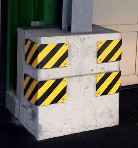 מגן עמודי בטון